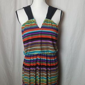 Enfocus Studio Dresses - ENFOCUS STUDIO Multicolor Stripes Maxi Dress 14